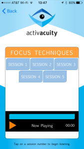 focus techniques sessions from activacuity