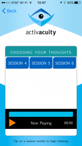 choosing your thoughts sessions from activacuity