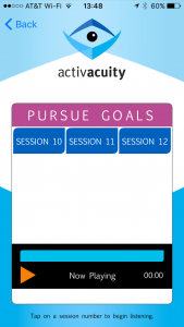 pursue goals sessions from activacuity