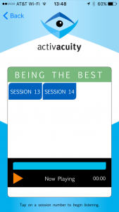 being the best sessions from activacuity