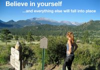 Self belief, the magic potion for your training